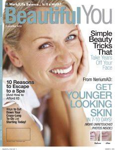 Nerium Beautiful You Magazine Cover