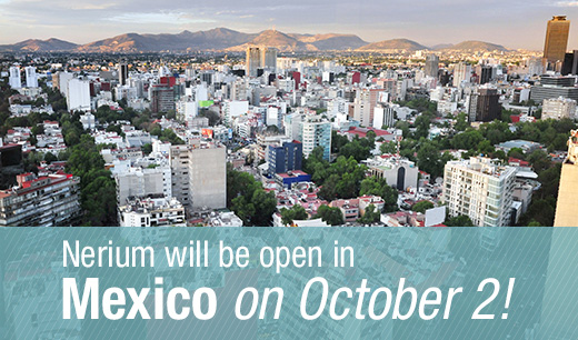 Nerium Mexico Launch