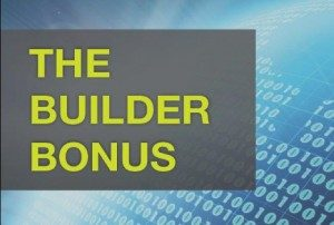 Builder Bonus Program