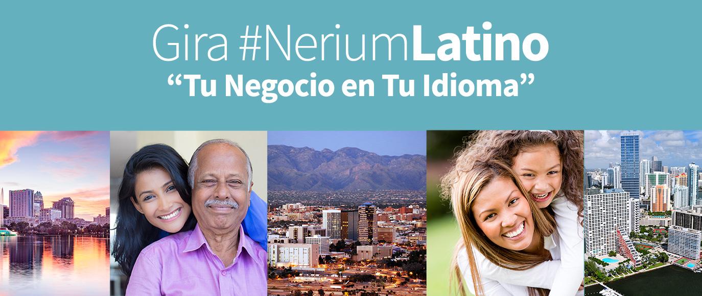 ¡Forma parte de nuestra gira #NeriumLatino!