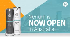 Nerium is now open in Australia