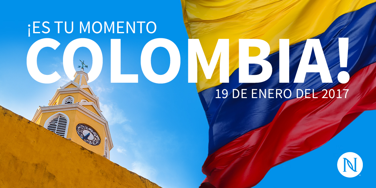 Bienvenidos a Colombia