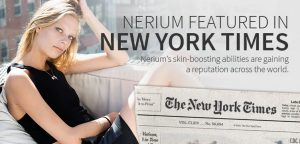 Nerium Featured in The New York Times