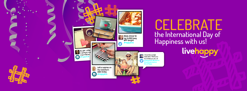 Celebrate the International Day of Happiness with Live Happy