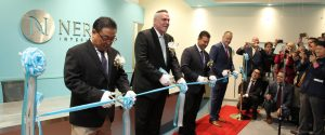 Nerium Leadership at a Ribbon Cutting Ceremony in Japan