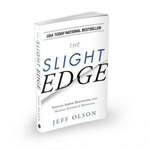 The Slight Edge by Jeff Olson Book Cover