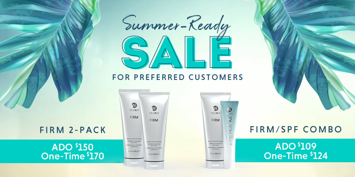 Summer-Ready Sale for Preferred Customers