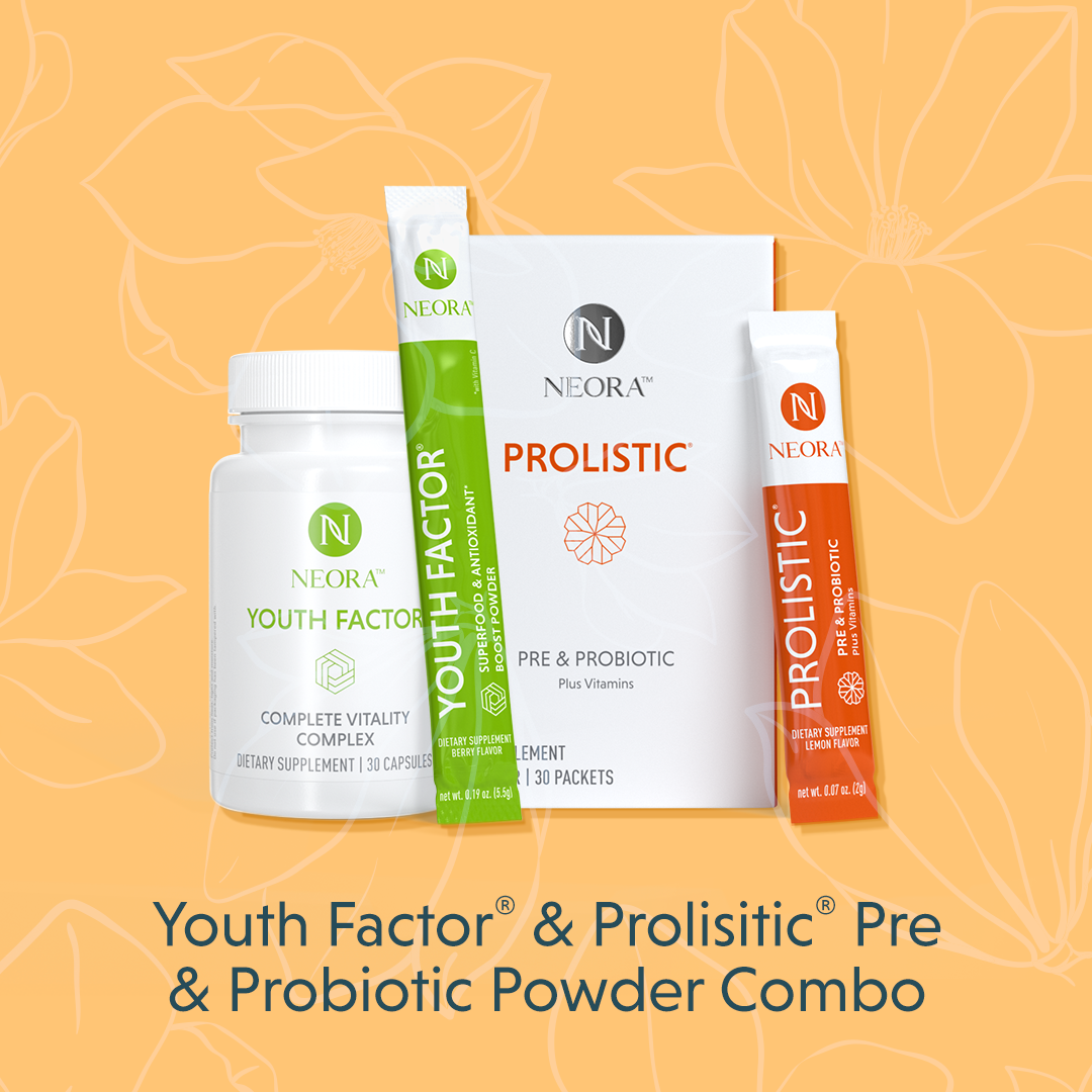 Youth Factor & Prolistic Pre & Probiotic Powder Combo