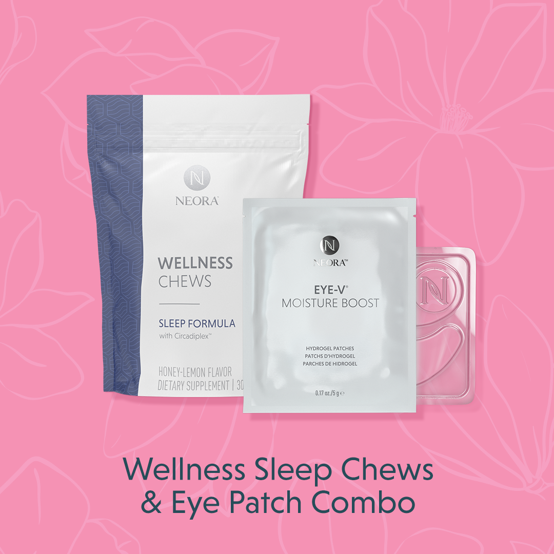 Wellness Sleep Chews & Eye Patch Combo