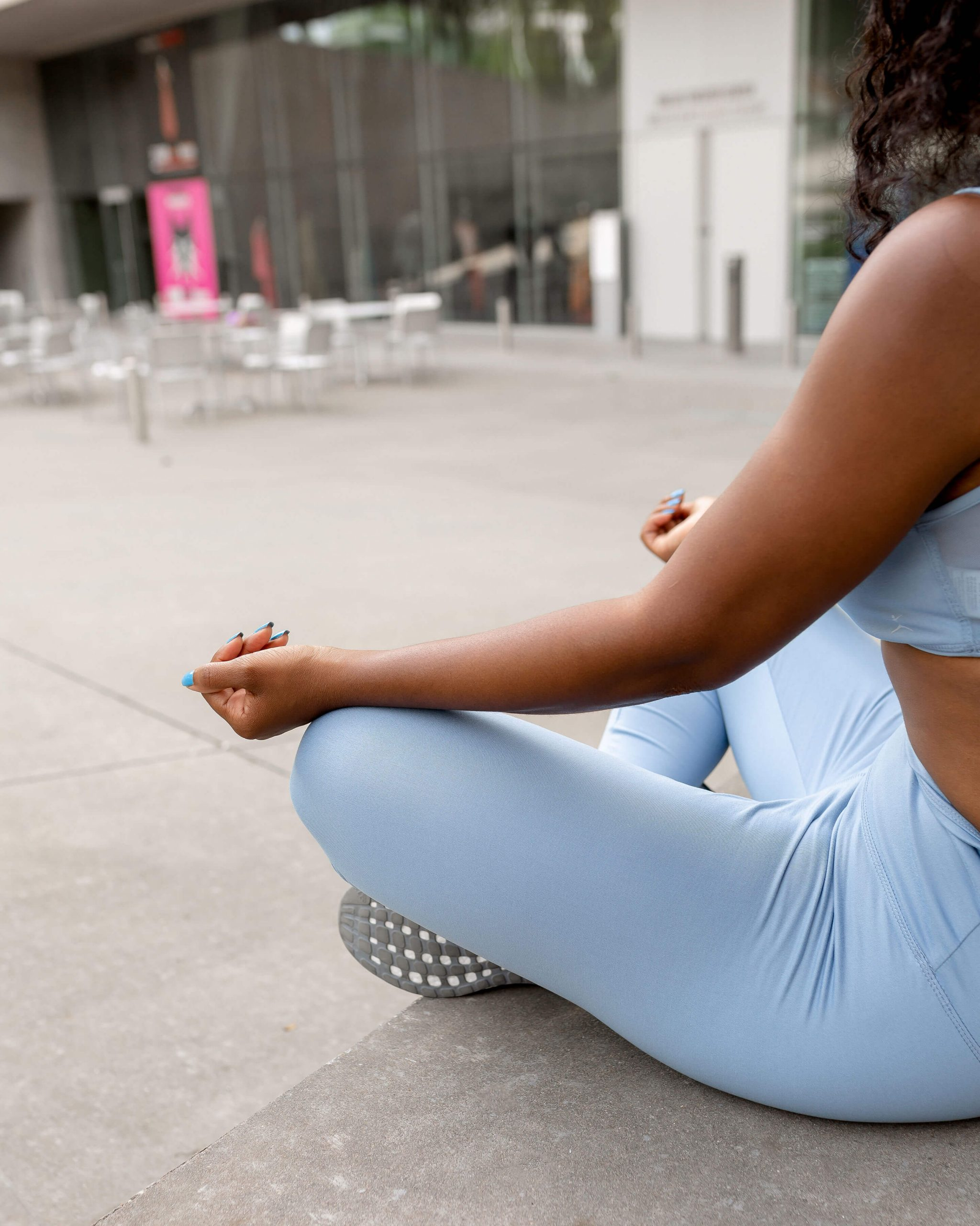 Brittany Giles Meditating