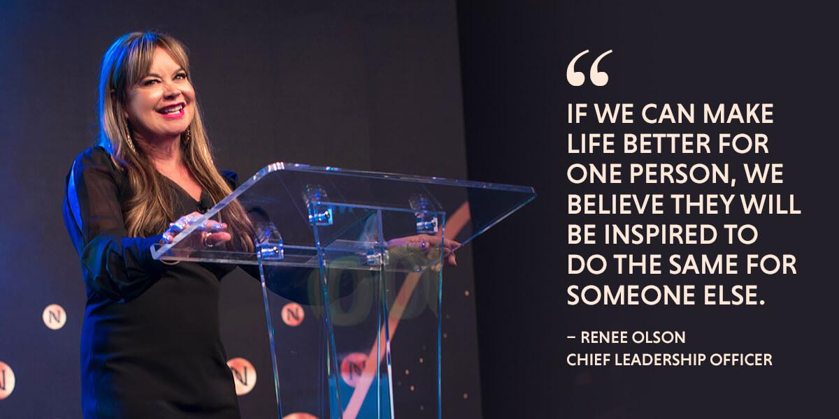 Renee Olson, Chief Leadership Officer