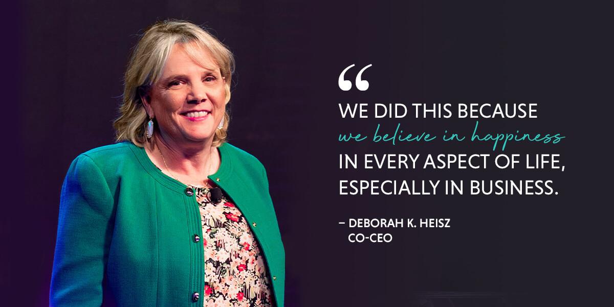 Deborah Heisz | Co-CEO